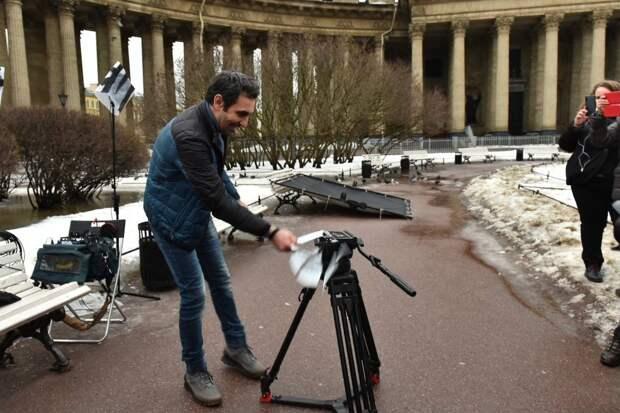 В Санкт-Петербурге начались съёмки «Последнего акселя» с Еленой Подкаминской