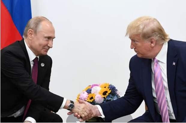 Путин обошел Трампа в рейтинге доверия жителей развитых стран