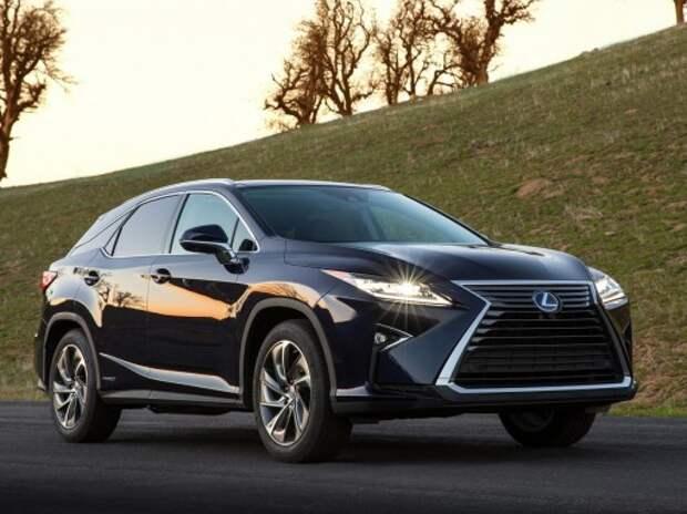 Lexus представил новый кроссовер RX (ВИДЕО)