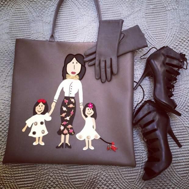 Повтор сумки от Долче & Габана