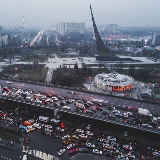 Россия с высоты птичьего полета: фото Александра Мурашкина