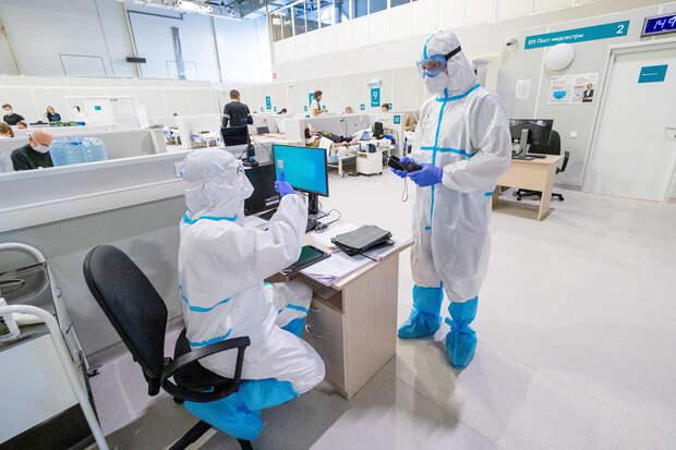 В России за сутки выявлено 13 233 новых случая коронавируса