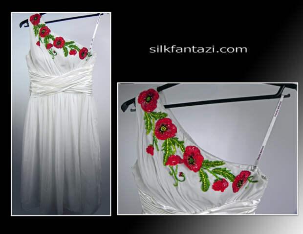 схемы вышивки бисером на одежде - Вышивка бисером.