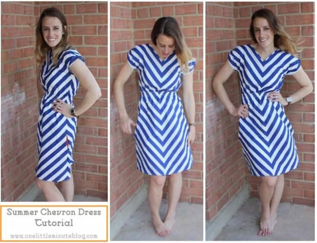 Платье без выкройки  2 (Diy)