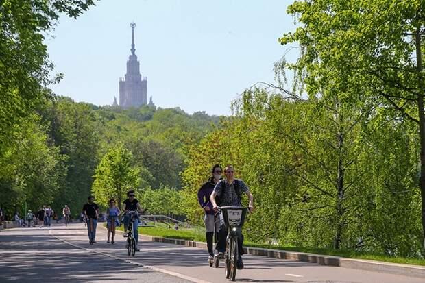 Температура воздуха в Москве превысила июньский максимум с 1901 года