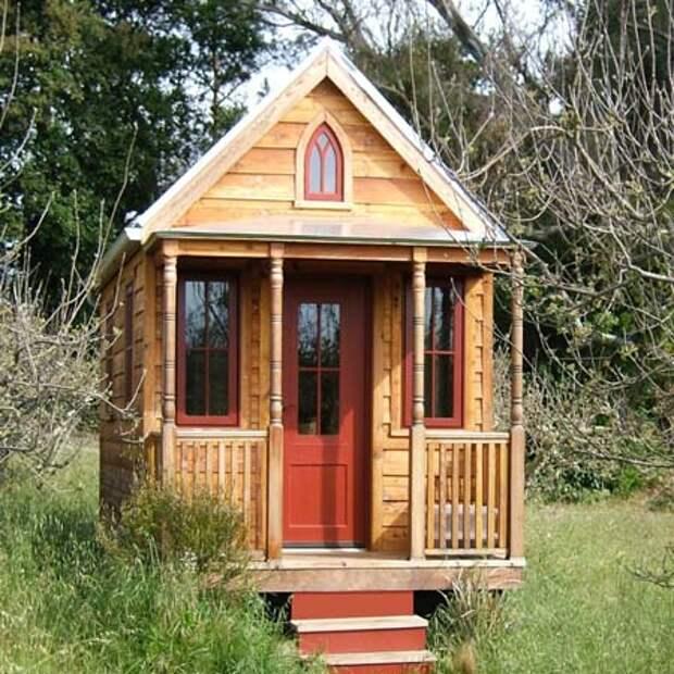 как сделать маленький дачный домик