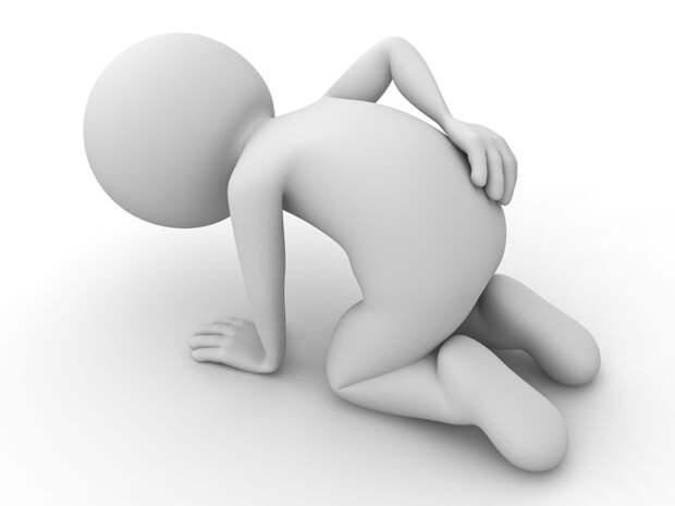 Самое простое упражнение при самых сильных болях в спине