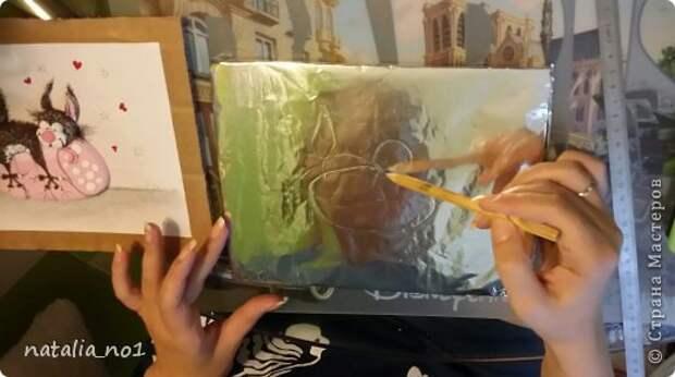 Мастер-класс Поделка изделие Лепка Кот на колбасе - Мастер класс Тесто соленое фото 4