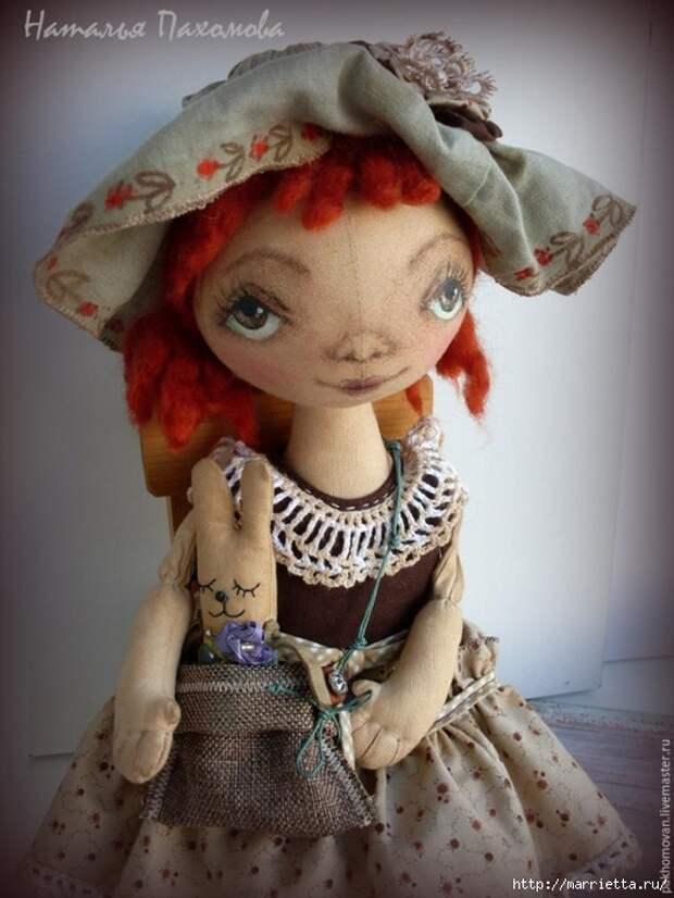 Роспись лица текстильной куклы. Мастер-класс (525x700, 237Kb)