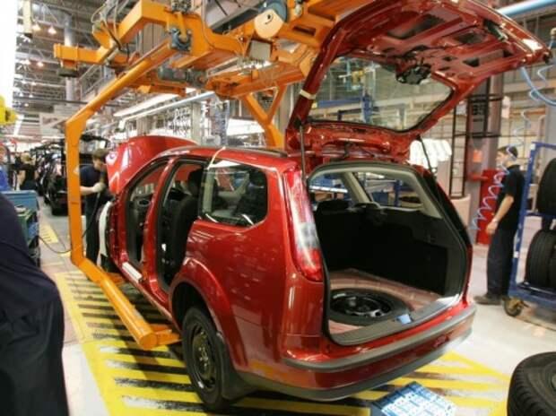 Завод Ford в Ленинградской области остановил сборку модели Focus