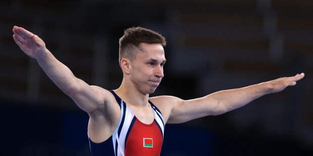 Иван Литвинович из Беларуси стал чемпионом Олимпиады в прыжках на батуте