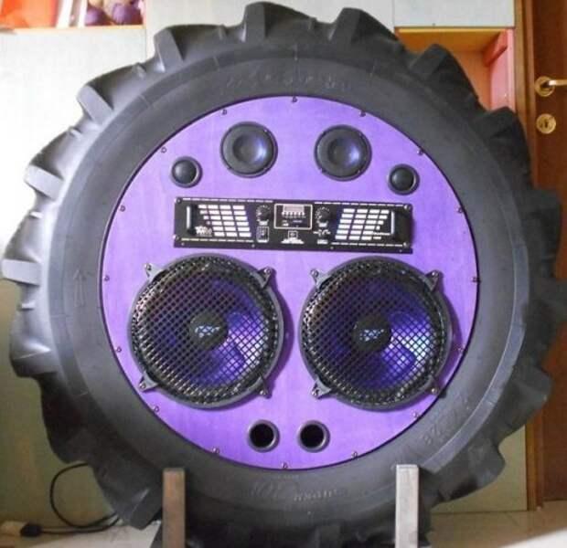 Вот что можно сделать из старых тракторных шин
