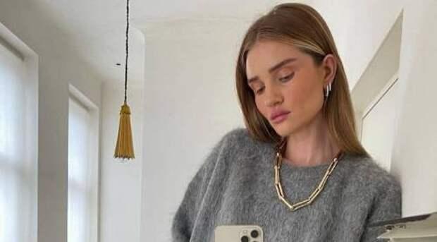 Как одеваться этой весной: ищем вдохновение для стильных образов в Инстаграме Роузи Хантингтон-Уайтли