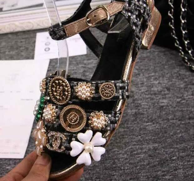 Обувка от Chanel (подборка фото)