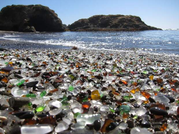 Пляж из стекла [Калифорния]