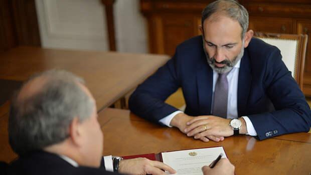 Премьер Армении Никол Пашинян