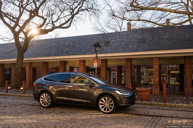 Tesla Model X: обзор удивительной машины
