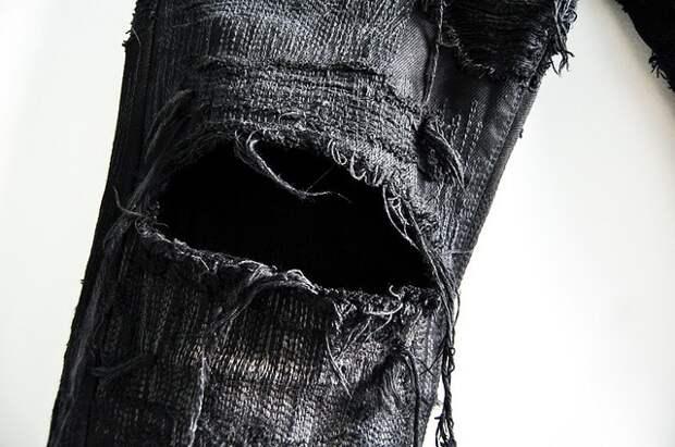Готические джинсы боро