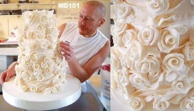 Торт «Свадебная мечта» еда, торт