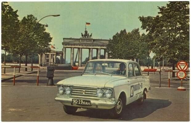 Экспорт «Москвича» 408/412