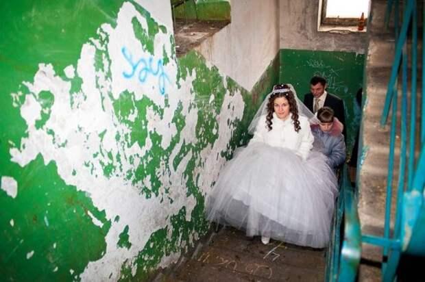 Свадебный ад в странах бывшего СССР.
