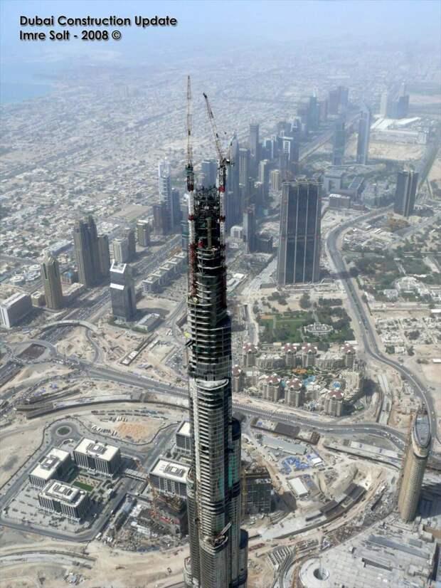 10 фактов о Бурдж-Халифа — самом высоком здании в мире