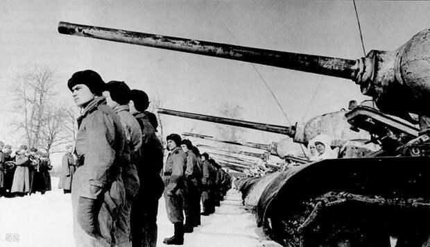 Боевое крещение танков Т-34-85 на советско-германском фронте в марте 1944 г.