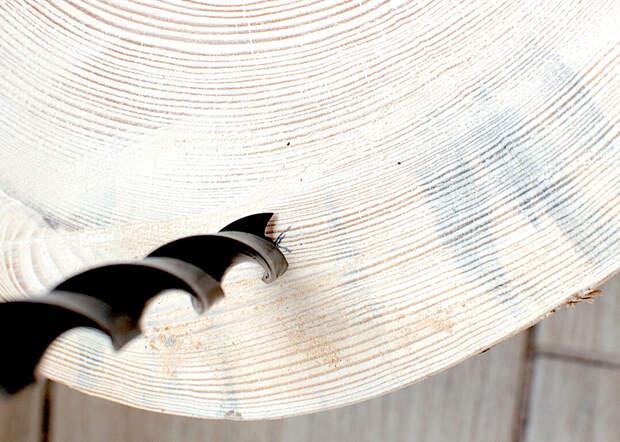 Сделай сам - мебель из деревянных ломтиков
