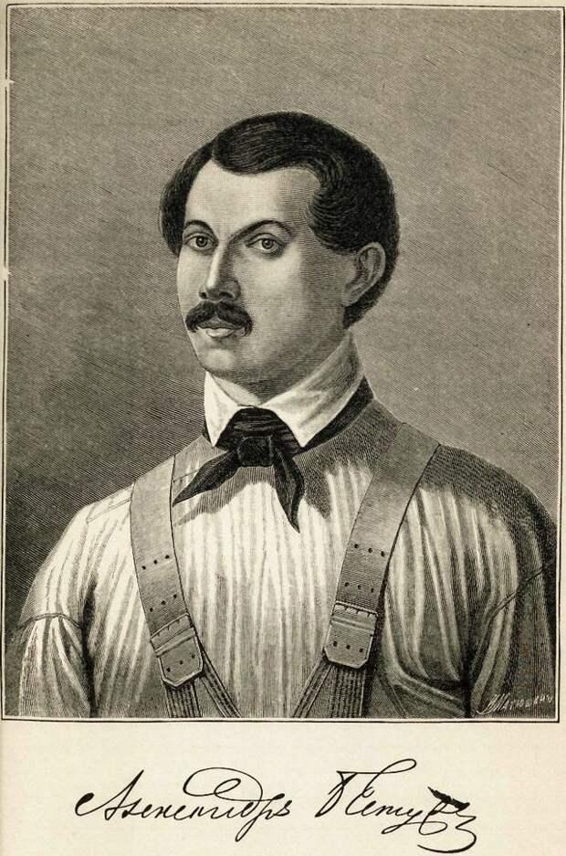 Александр Бестужев. Гравюра Г. И. Грачева, 1889 год.jpg