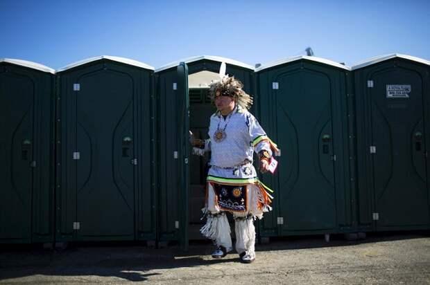 Празднование Дня коренных народов США