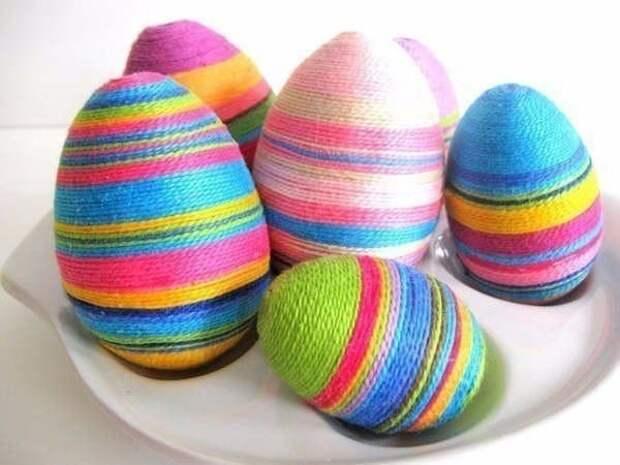 Нитяные яйца