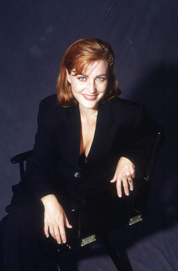 Джиллиан Андерсон (Gillian Anderson) в фотосессии Майкла Тая (Michael Tighe) (1997), фото 1
