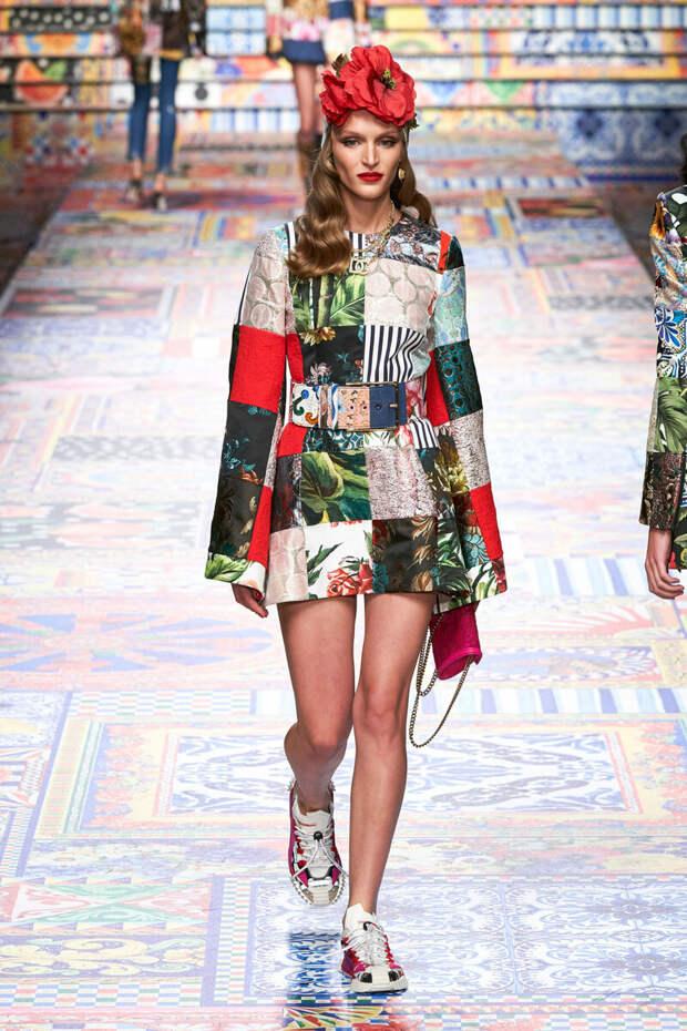 Шёлковая коллекция Dolce Gabbana 2021