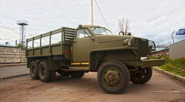 Американец, который творит добро Chevrolet G506, GMC CCKW, US6, вов, студебекер