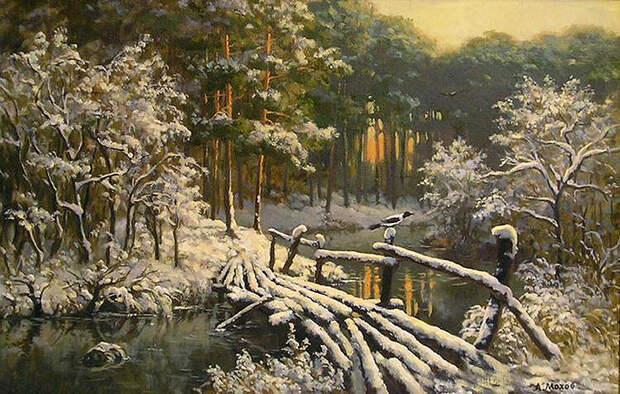 Для души - Зимние пейзажи от Михалыча!