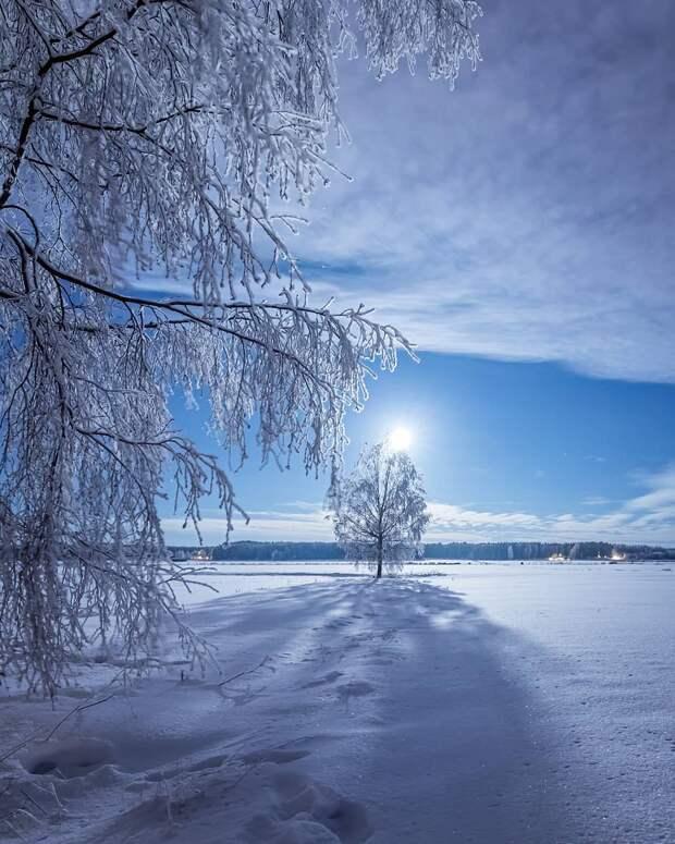 Финляндия зимой: в гостях у сказки