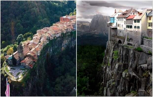 Почему в самом необычном городе мира всего одна улица и нельзя обойти дома вокруг