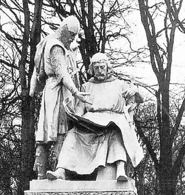 Маркграфы Бранденбургские Иоганн I и Оттон III.