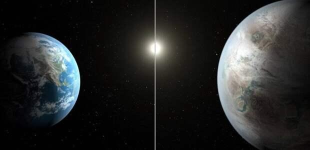 """Телескоп """"Кеплер"""" нашел планету земного типа с жидкой водой"""