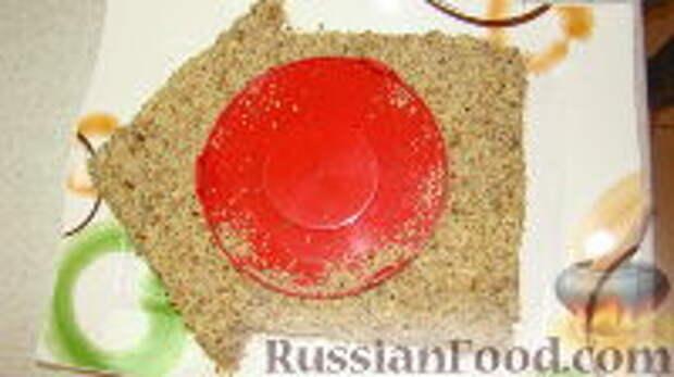 """Фото приготовления рецепта: Салат """"Часы"""" - шаг №10"""