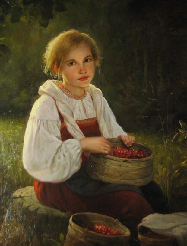 Древняя Русь в картинах Андрея Шишкина.