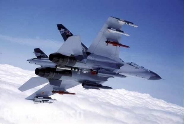 Безумие! — западные читатели отреагировали на перехват истребителя НАТО российским Су-27 (ВИДЕО)