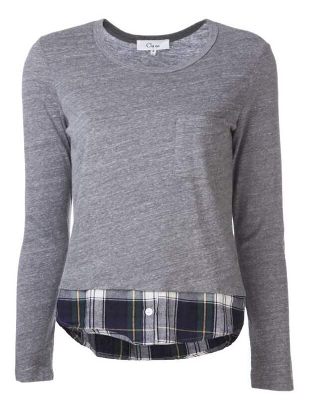 Две идеи удлинения одежды