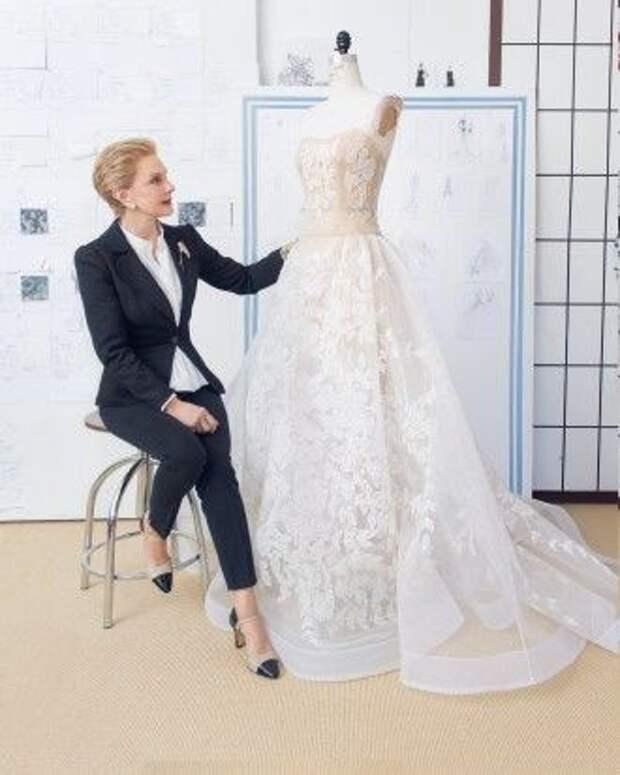 Свадебное платье by Carolina Herrera (Diy)