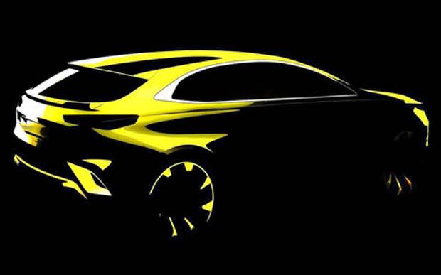 Компактный кроссовер Kia Xceed — первый тизер