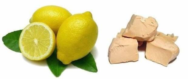 Дрожжи с лимоном от угрей