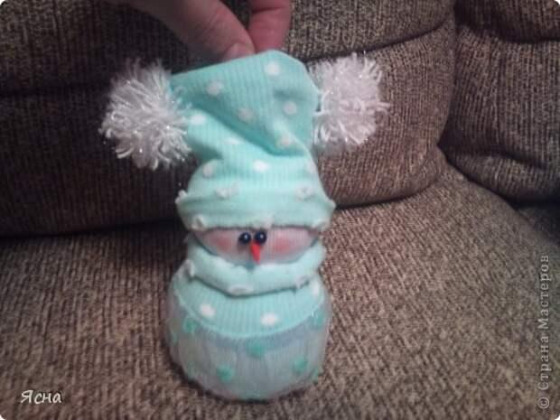 Мастер-класс Поделка изделие Новый год Шитьё И снова снеговики из носков + мои дополнения Носки фото 16