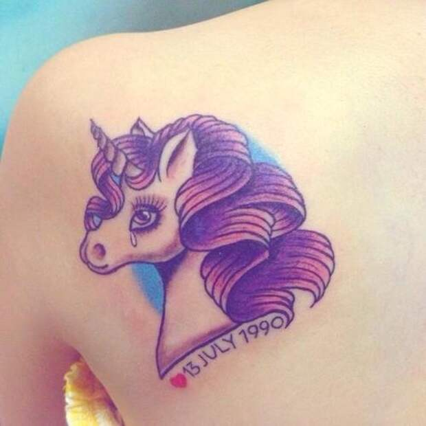 "Подборка тату ""unicorn"""
