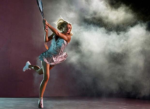 Искусство фотографии: теннис