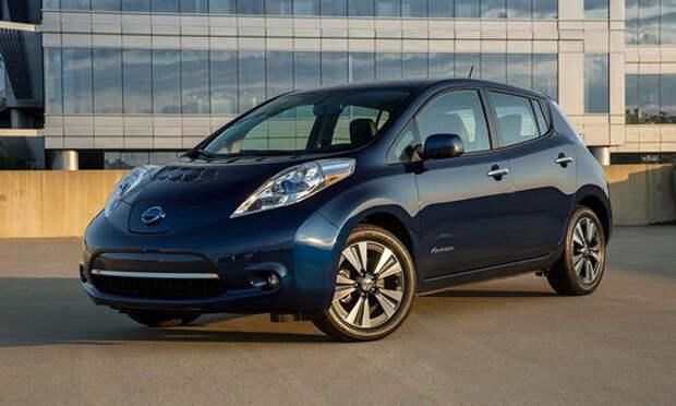 Nissan увеличил запас хода Leaf 2016 до 172 км [Фотогалерея]